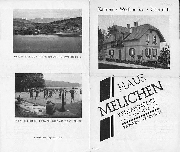 Haus Melichen 1940er Jahre