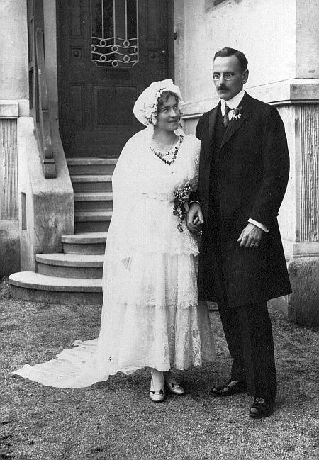 Hochzeitsfoto Max Schindler jun. mit seiner Frau