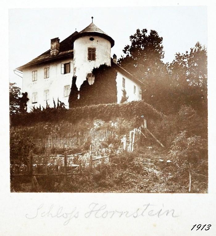 Schloss Hornstein 1913
