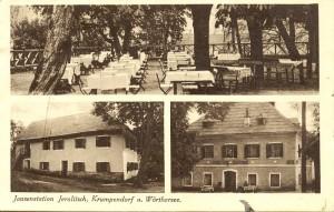 Jerolitsch Jausenstation 1927