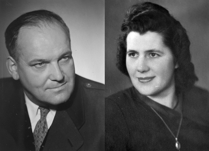 Florian und Aloisia Sadounig