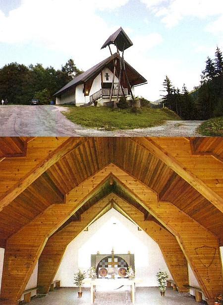 Interreligionale Friedenskirche Koprein/Petzen 1972