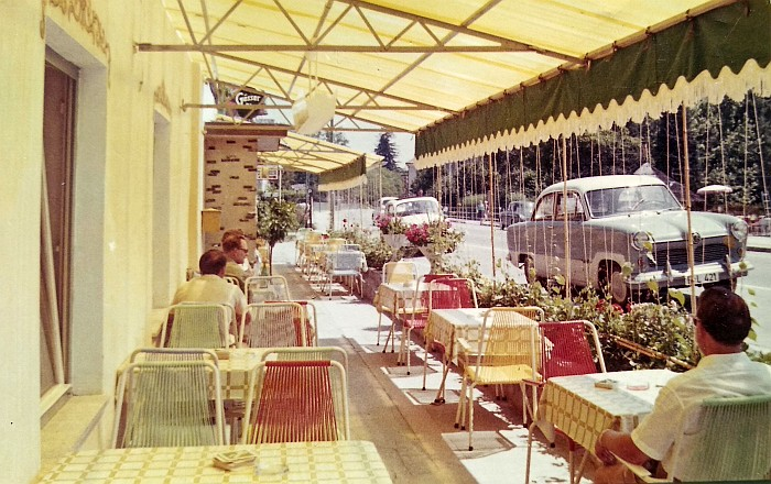 Krumpendorferhof Gastbereich Hauptstraße 1960er Jahre