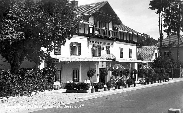 Krumpendorferhof um 1934