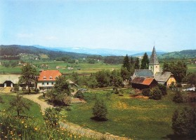 Gasthof und Pension Kaschitz in Pirk 1956