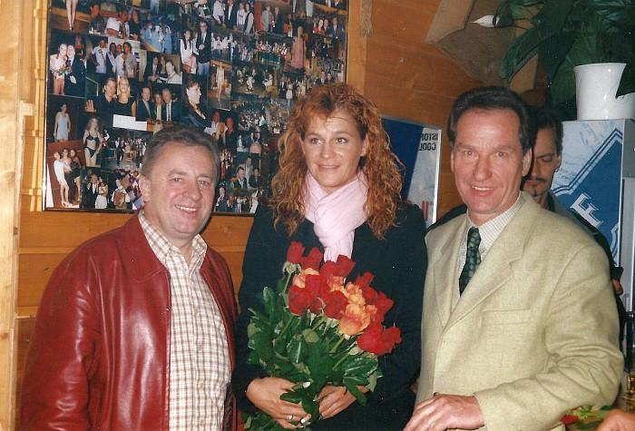 Andrea Berg in der Tenne Krumpendorf 2003