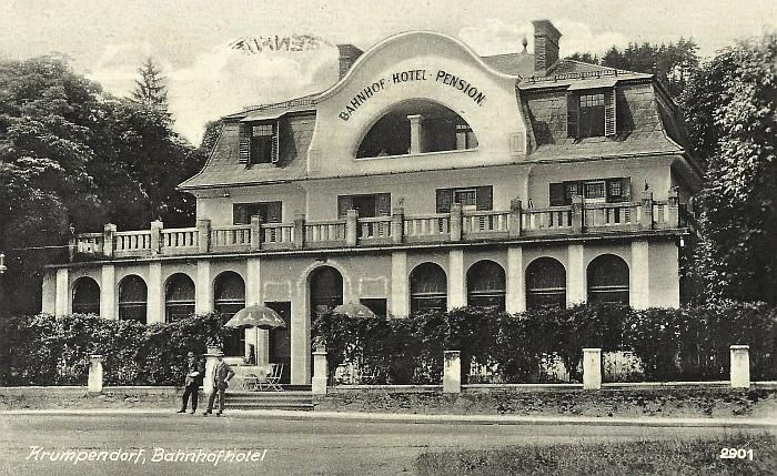 Bahnhofhotel 1942
