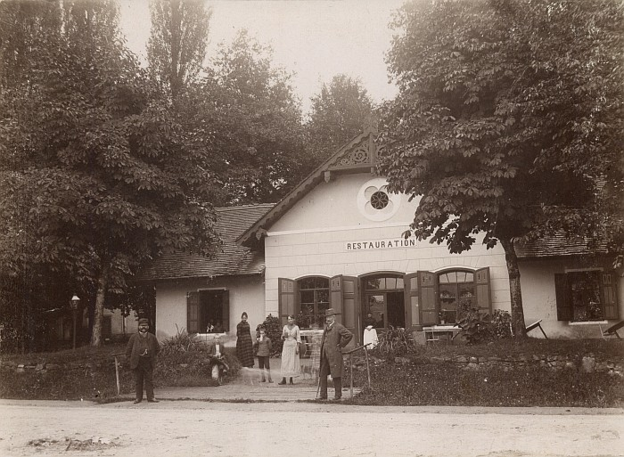 Bahnhof-Restauration 1890