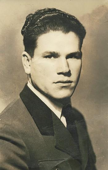 Jakob Weiss in jungen Jahren