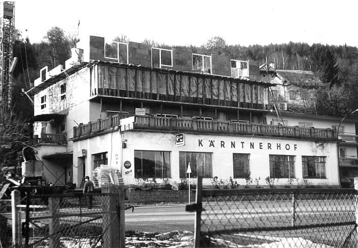 Kärntnerhof Umbau 1967