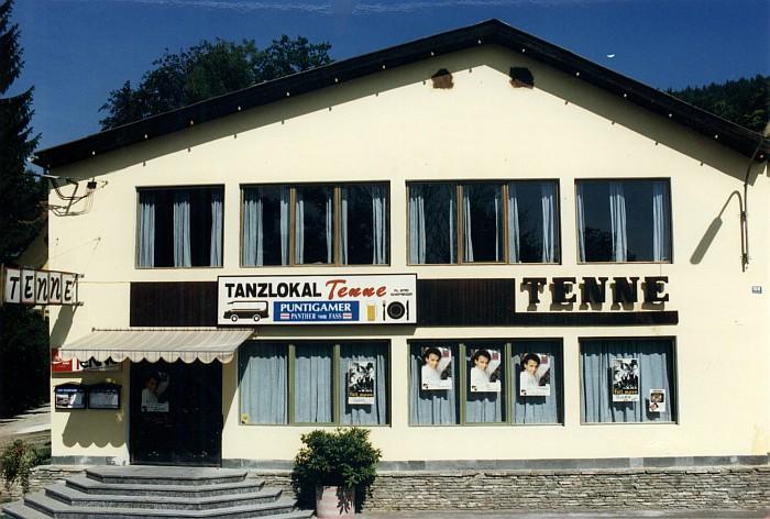 Tanzlokal Tenne 1989