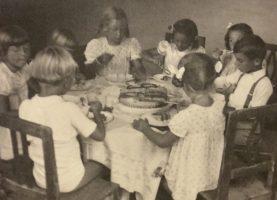Kindergeburtstag in Krumpendorf 1946