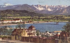 Strandbad Klagenfurt Strandcafé 1931