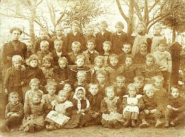 Klassenfoto 1906 VS Krumpendorf - Schüler Jahrgang 1899