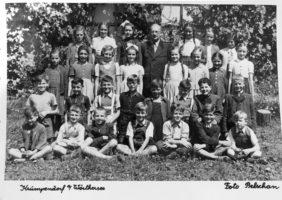 Klassenfoto 1950 4. Klasse VS Krumpendorf