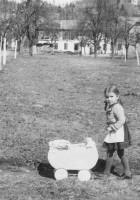 Koch Obstgarten vom Bachweg aus 1939