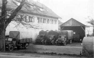 Koch Britische Militär-LKW 1948