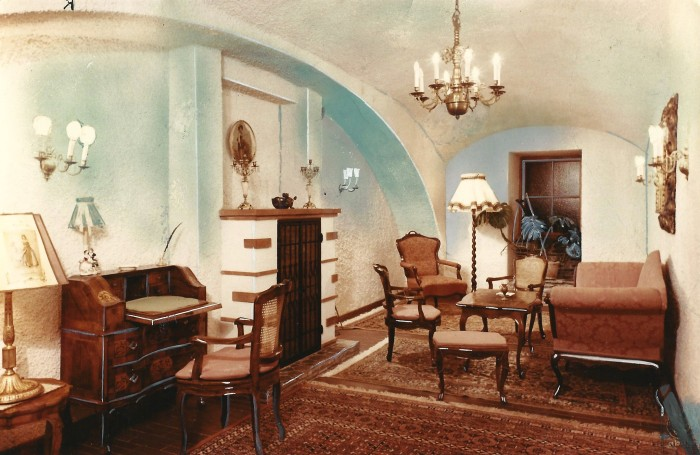 Hotel Koch Aufenthaltsraum 1956