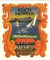 Hotel Koch Kofferaufkleber