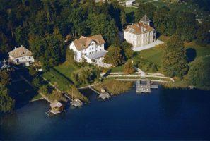Seehotel Koch und Parkvilla Luftbild