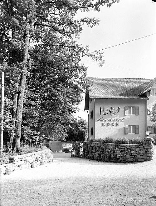 Seehotel Koch Rückseite