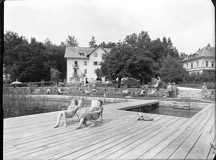 Seehotel Koch mit Brücke