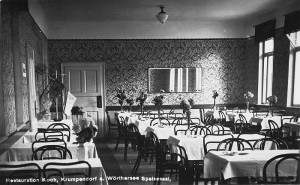 Restauration Koch Speisesaal 1933
