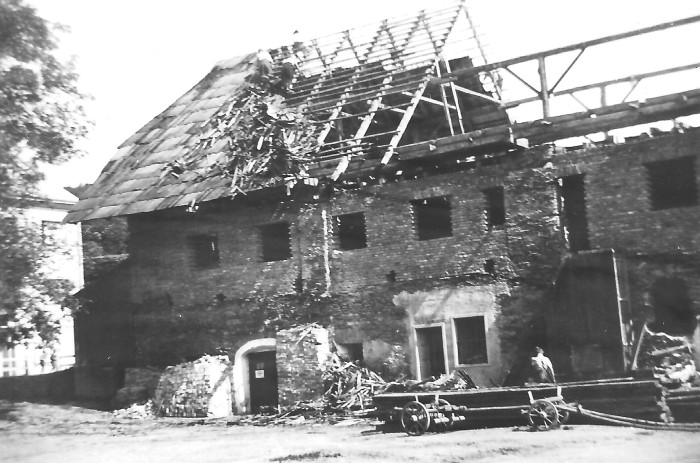 Umbau zum Hotel 1940