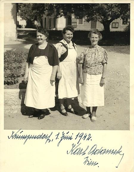 Urlaubsfoto mit Gast 1942
