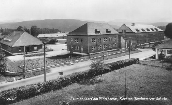 Gendarmerieschule Krumpendorf 1952