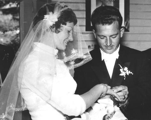 Hans und Johanna Koch 1956