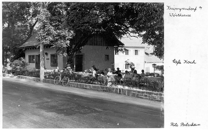 Kerzenstube Café Koch 1960