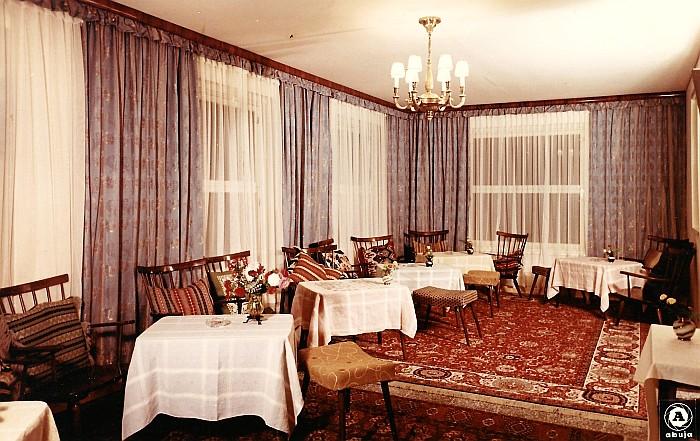 Gästehaus Koch Aufenthaltsraum ca. 1960