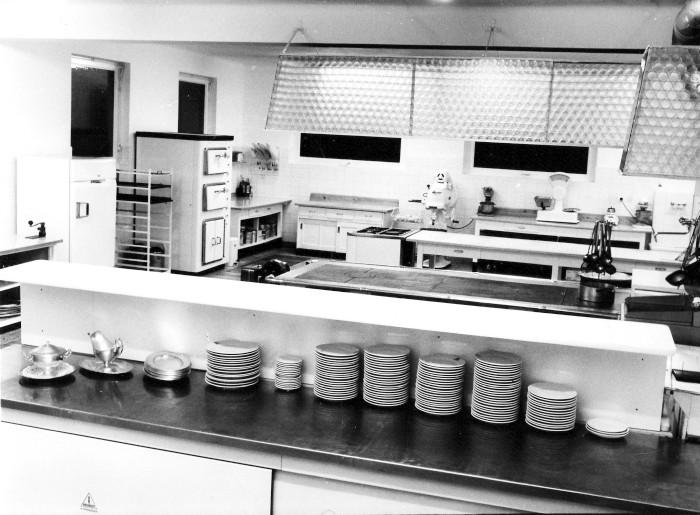 Neue Küche im Hotel Koch 1965