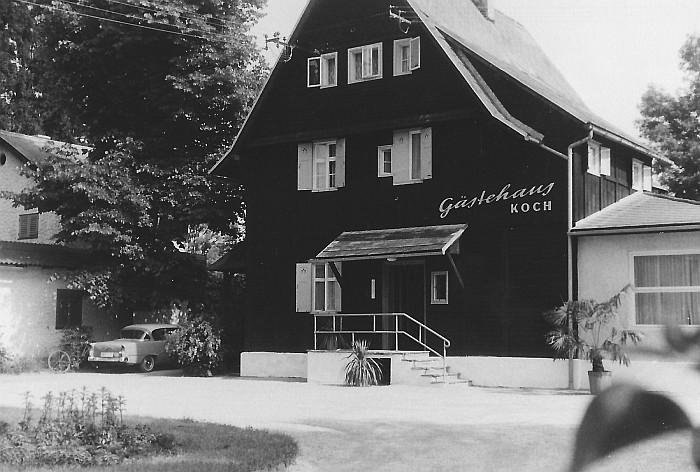 Gästehaus Koch ca. 1960
