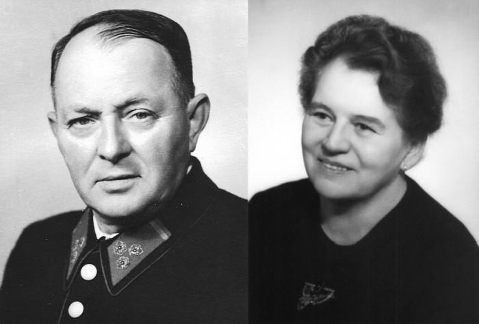 Hans und Maria Koch ca. 1969