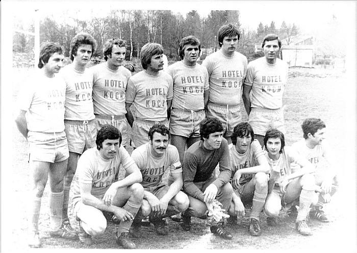 Fußballmannschaft KSK Krumpendorf 1960er Jahre