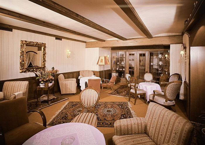 Seehotel Koch Aufenthaltsraum 1971