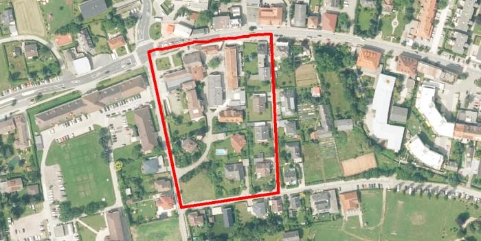 Luftbild Koch-Anwesen in Krumpendorf 2019