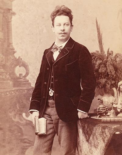 Edwin Komauer Portrait 1890er