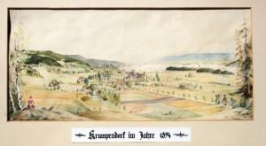 Krumpendorf Aquarell 1894