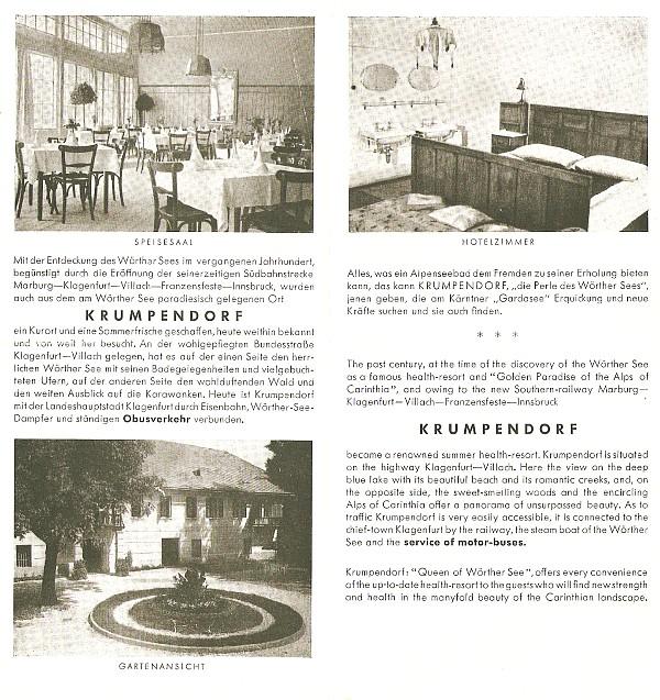 Krumpendorferhof 1950-56