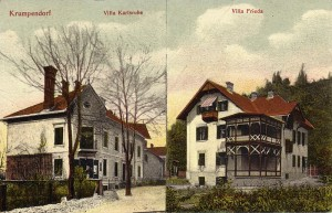 Kutternig Villa Frieda und Villa Karlsruhe 1907