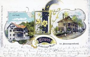 Kutternigs Villen ca. 1900