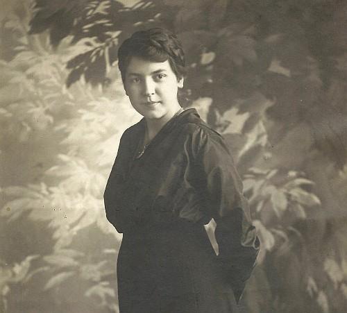 Marie Jakobus später Dinklage 1917