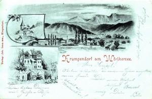 Mondscheinkarte 1899, Künstler: Markart