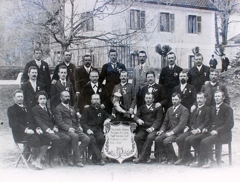 MGV Seerösl Gruppenfoto 1901