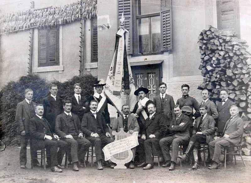 MGV Seerösl Gruppenfoto 1919