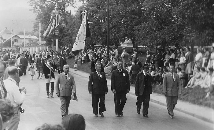 MGV Seerösl Erntedankfest 1957