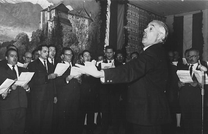 MGV Seerösl Liederwettbewerb 1960